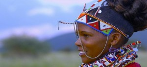 BANNER MASSAI WOMAN